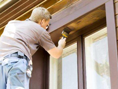 Pris for udvendig maling af træhus