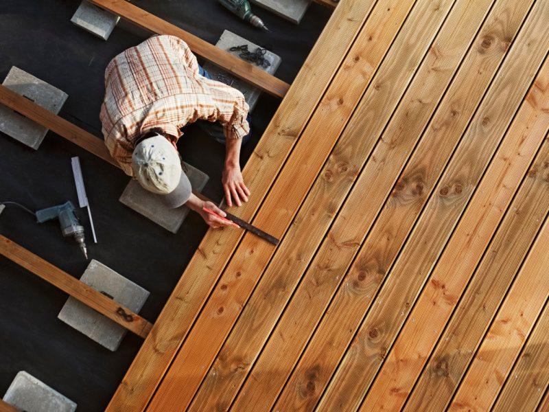 Få 3 tilbud på en ny træterrasse